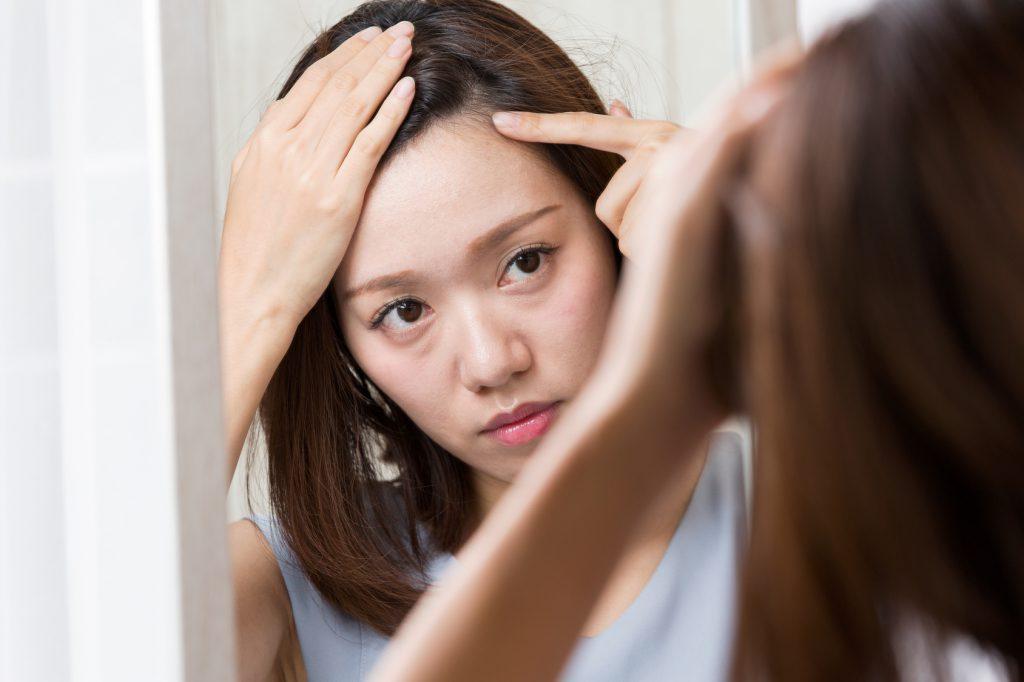 髪のお悩みには「側柏葉」